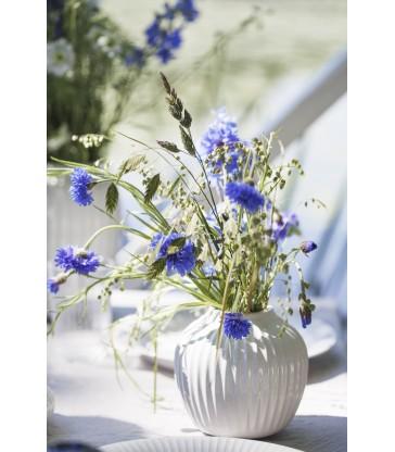 White Ceramic Vase 13cm high