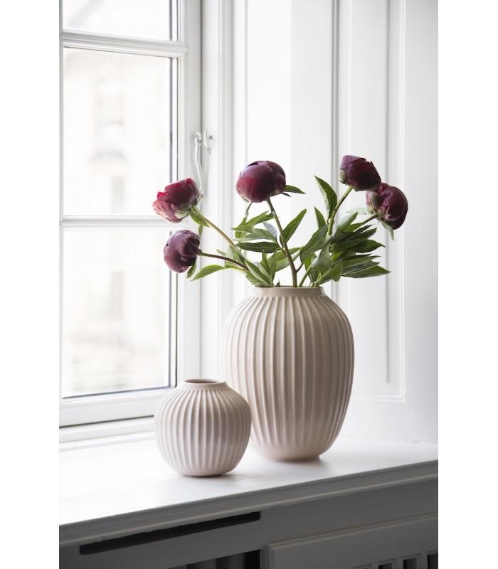 Pale Rose Pink Ceramic Vase 13cm high