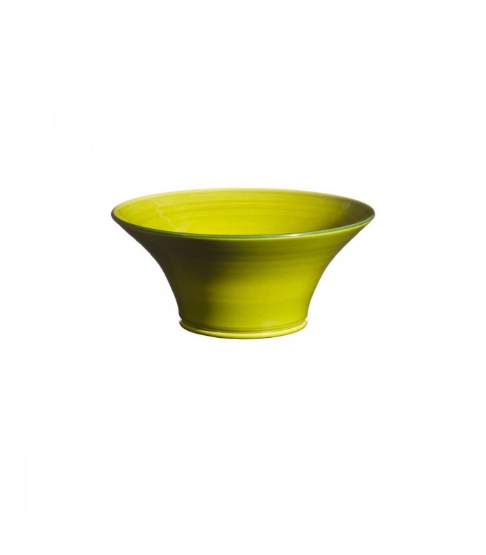 Medium Flared Bowl Apple Green