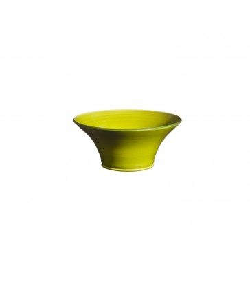 Small Flared Bowl Apple Green