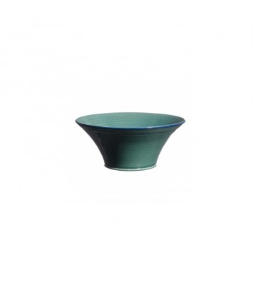 Small Flared Bowl blue green colour