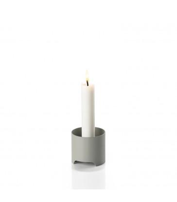 Mud Grey Candlestick minimalist homewares