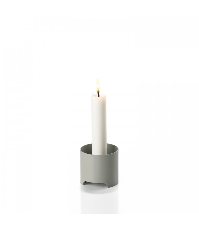 Mud Grey Candlestick minimalist homewares