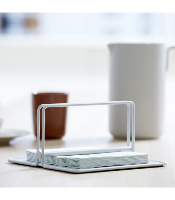 Pale Grey Napkin Holder