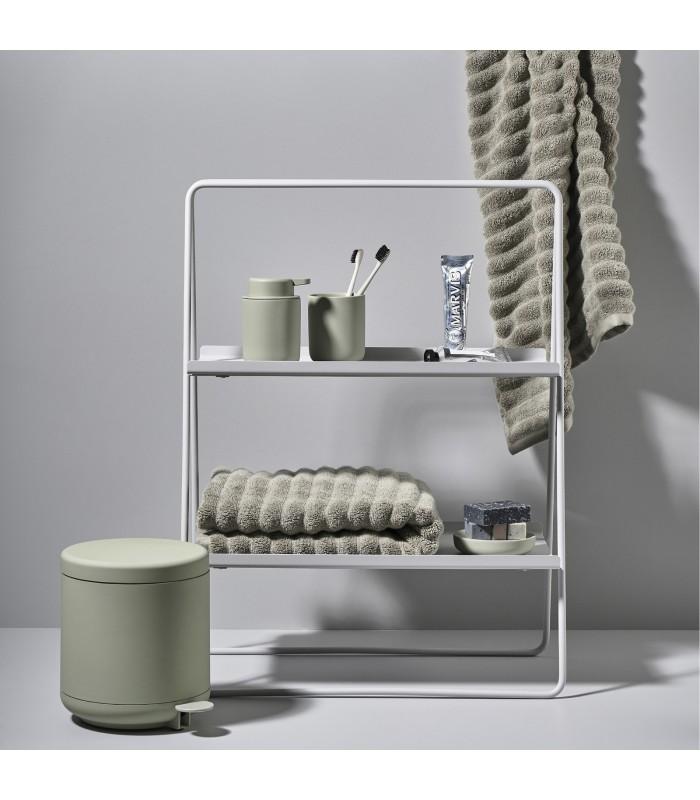 pale grey a frame shelf unit for kitchen or bathroom large
