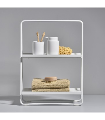 White A Shelf - Small storage for kitchen countertops