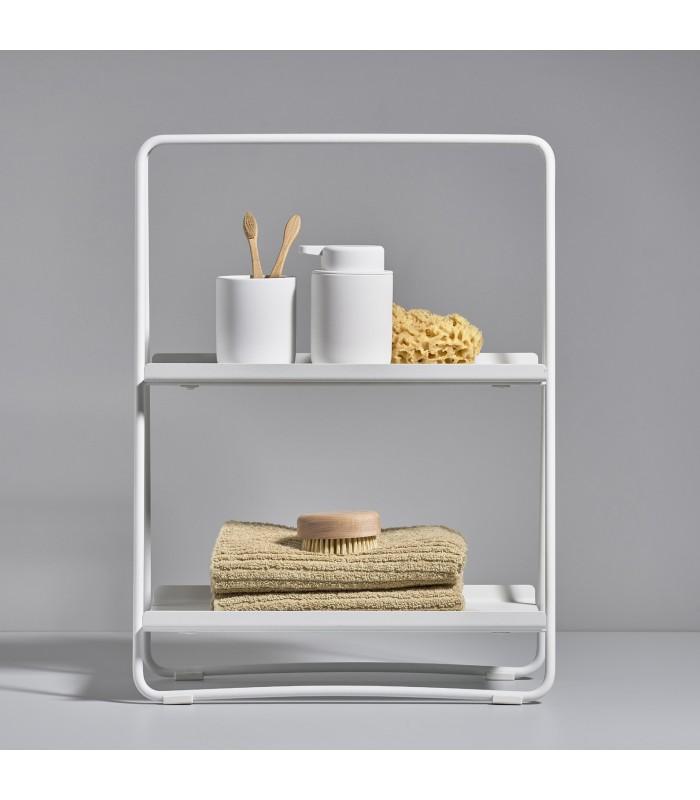 White A Shelf - Small storage for kitchen countertops