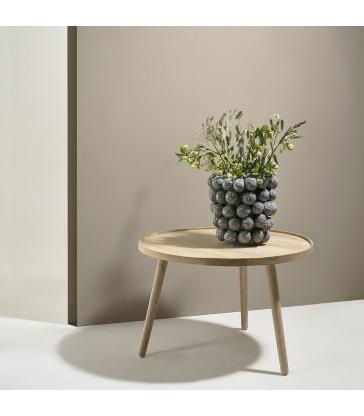 Round White Washed Oak Table