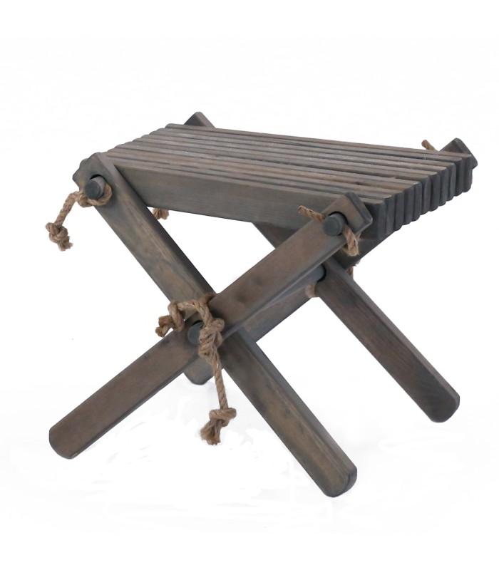 Grey Pine Eco Table / Stool - for Eco Chair
