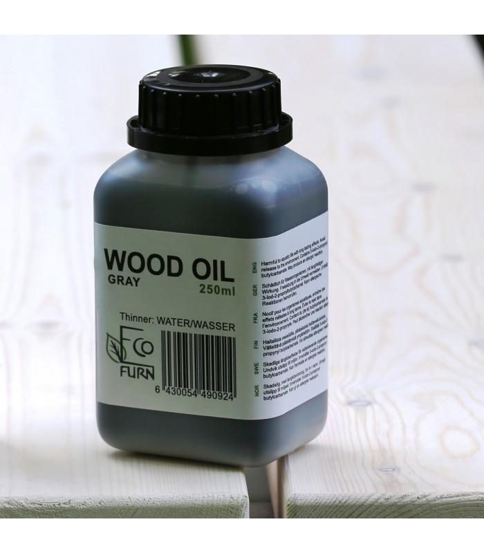 Eco Chair Grey Wood Oil