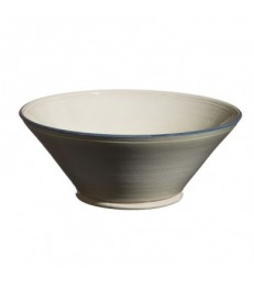 Large Flared Bowl Grey