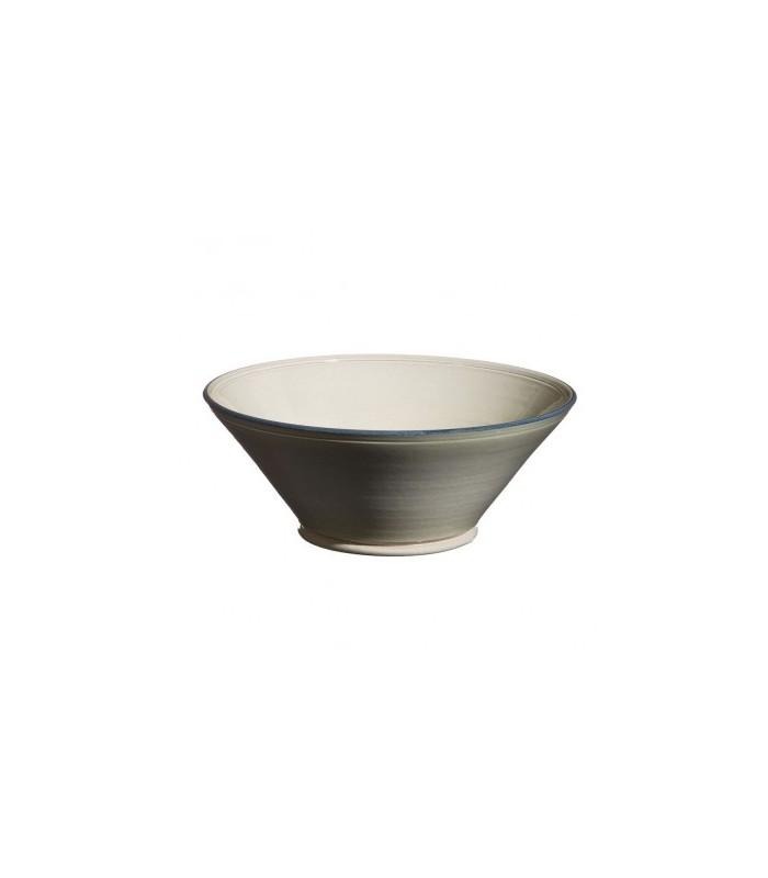 Large Flared Bowl Grey