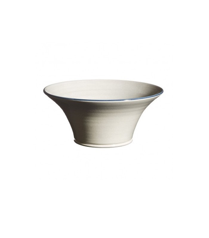 Medium Flared Bowl Grey