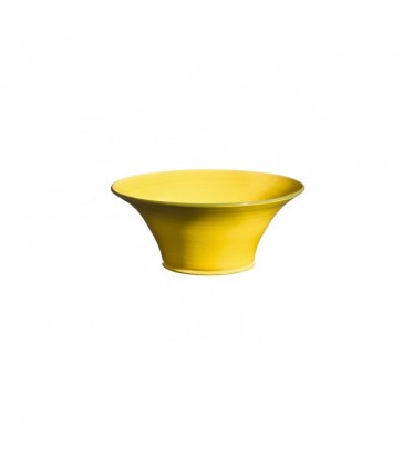 Small Flared Bowl Yellow