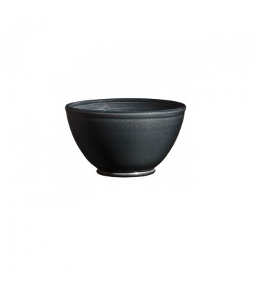 Round Ceramic Bowl Dark Grey