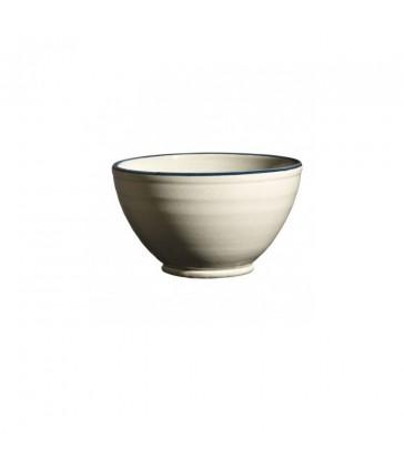 Round Ceramic Bowl Grey