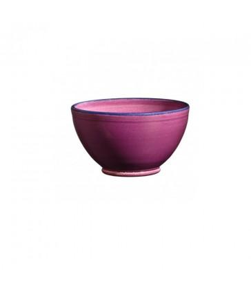 Round Ceramic Bowl Raspberry