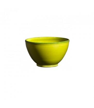 Round Ceramic Bowl Apple Green french ceramics