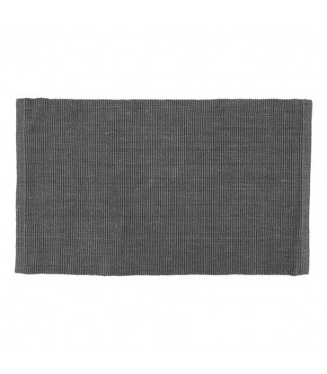 Lead Grey Jute Floor Rug 70x120cm