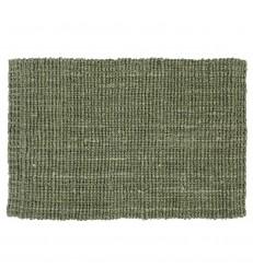 Green Jute Doormat