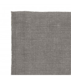 Large Ribbed Beige  Jute Floor Rug 190x290cm