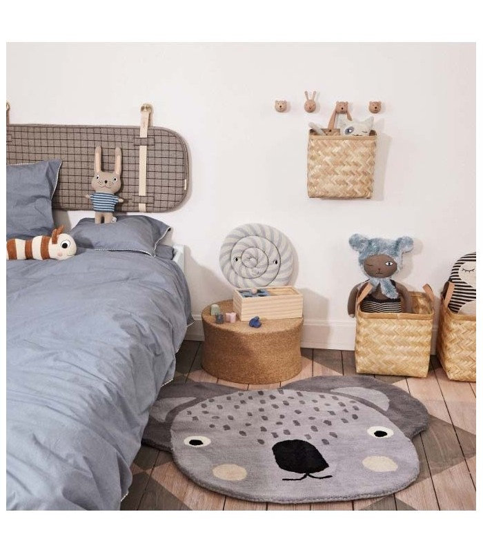 kids bedroom koala floor rug from the blue door