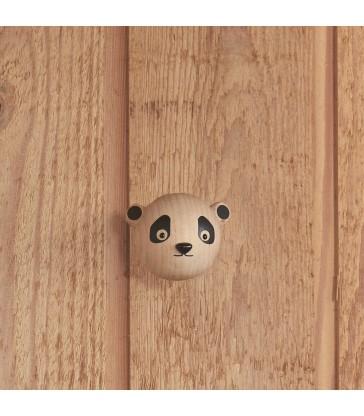 Timber Panda Wall Hook