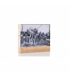 Magnetic Photo Frame 10x15 - Timber