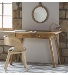 Oak Desk or Dressing Table - Natural