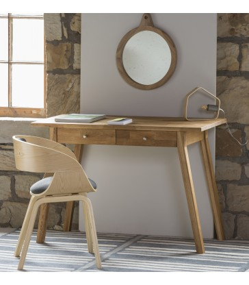 Oak timber dressing table of desk for your home office