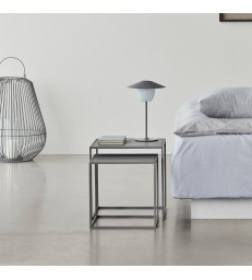 Grey Nesting Coffee Tables - Set of 2