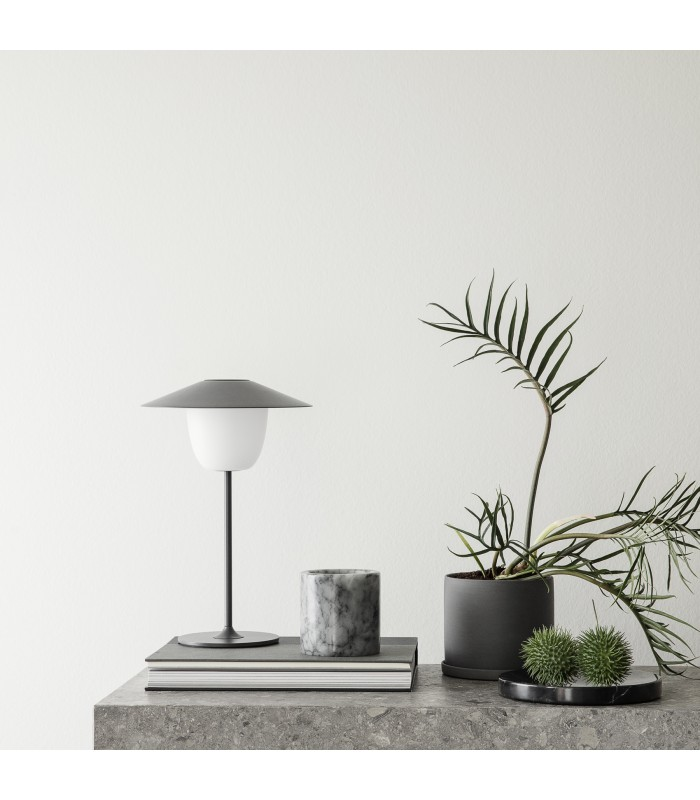 Grey LED lamp - 3 Lamps in One, Rechargeable