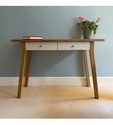 Oak Desk or Dressing Table - Chalk