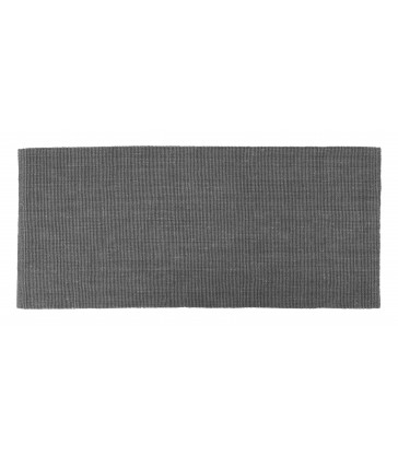 grey floor rug made from jute for your hallway 1.8m long
