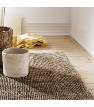 Jute Rug Natural Grey 240x300cm