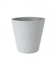 Large Light Grey Flower Pot