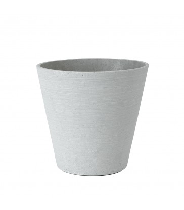 Light Grey Flower Pot - Large