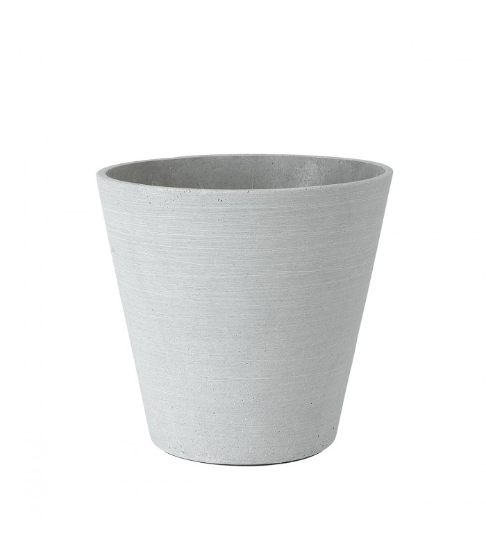 Light Grey Flower Pot - Large