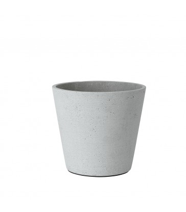 Light Grey Flower Pot Medium
