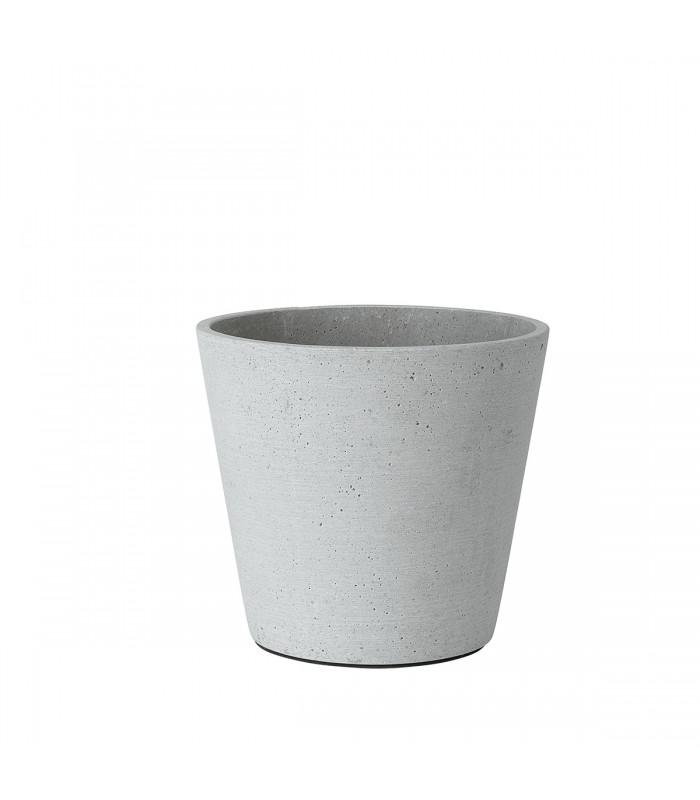 Light Grey Flower Pot Medium