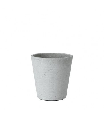 Small Light Grey Flower Pot