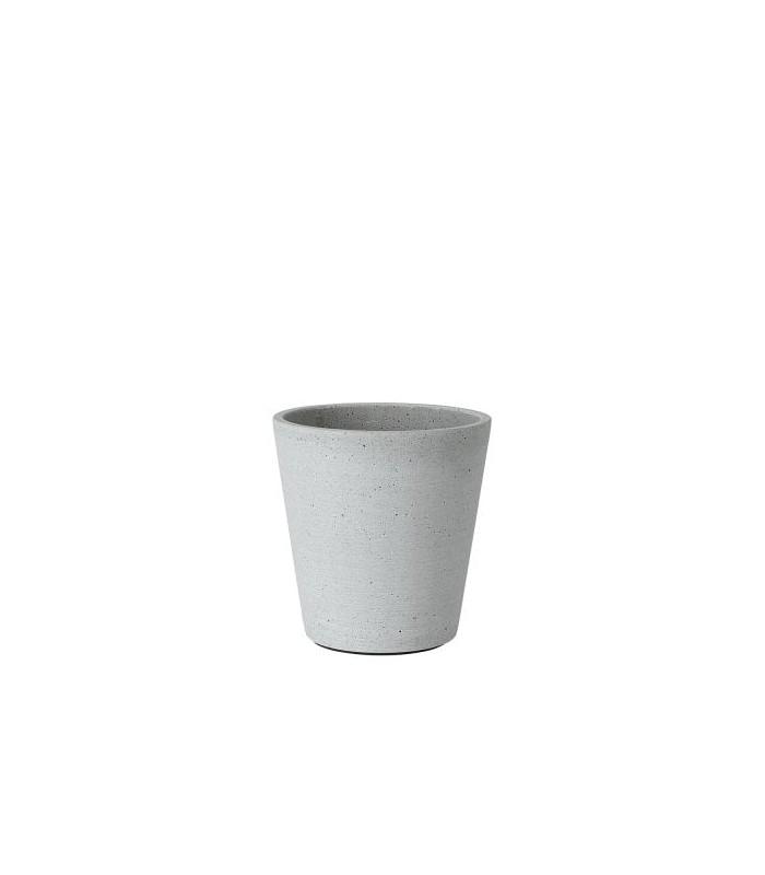 Small Light Grey Flower Pot