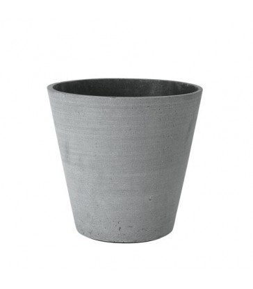 Large Dark Grey Flower Pot