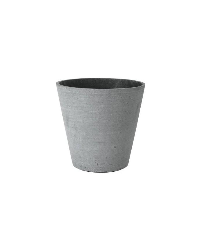 Large Dark Grey Flower Pot