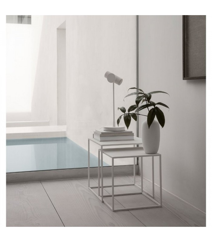 White Nesting Coffee Tables