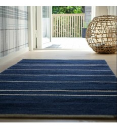 Theo Floor Rug Dark Blue 80x160