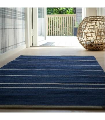Theo Floor Rug Blue 80x160