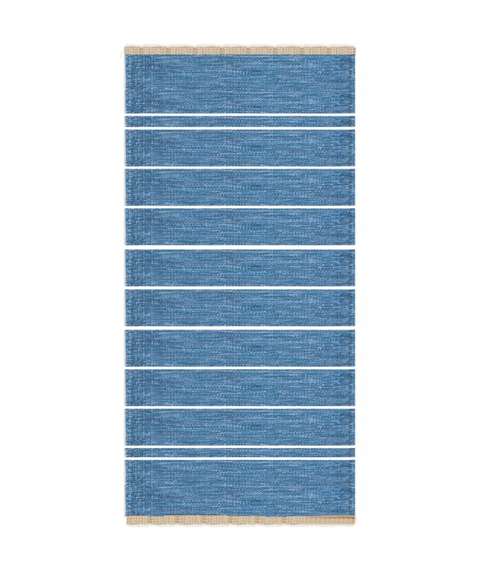 Theo Floor Rug Light Blue 80x160