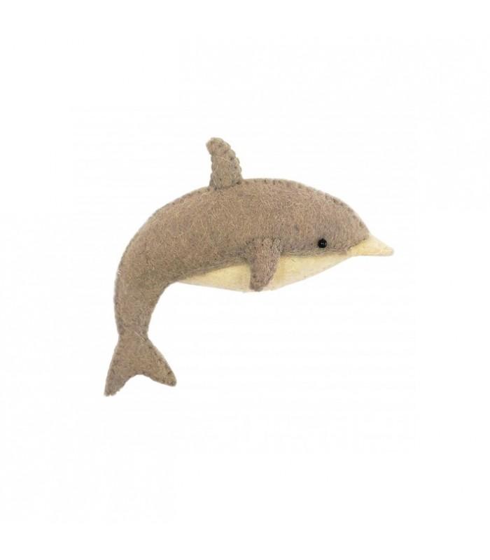 Mini Dolphin Felt Wall Decoration
