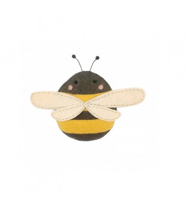 Mini Bee Felt Wall Decoration